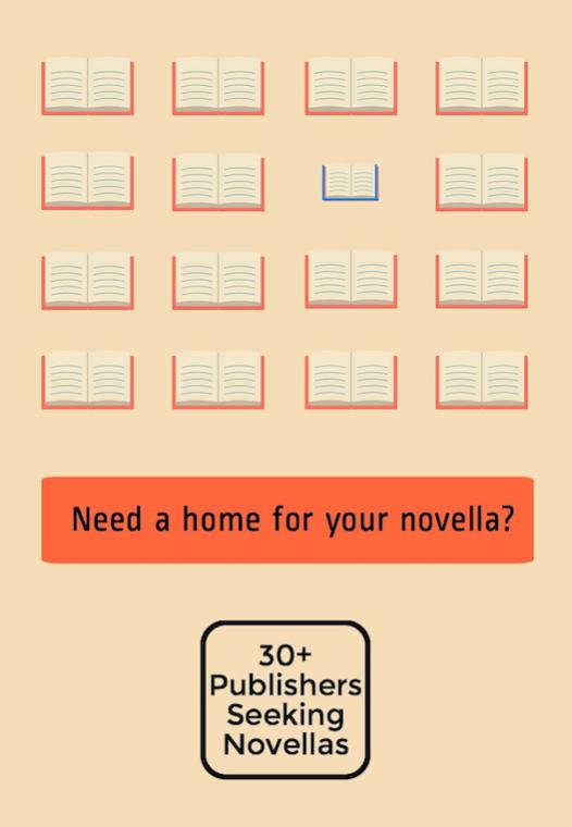 33 Publishers and Journals Seeking Novellas
