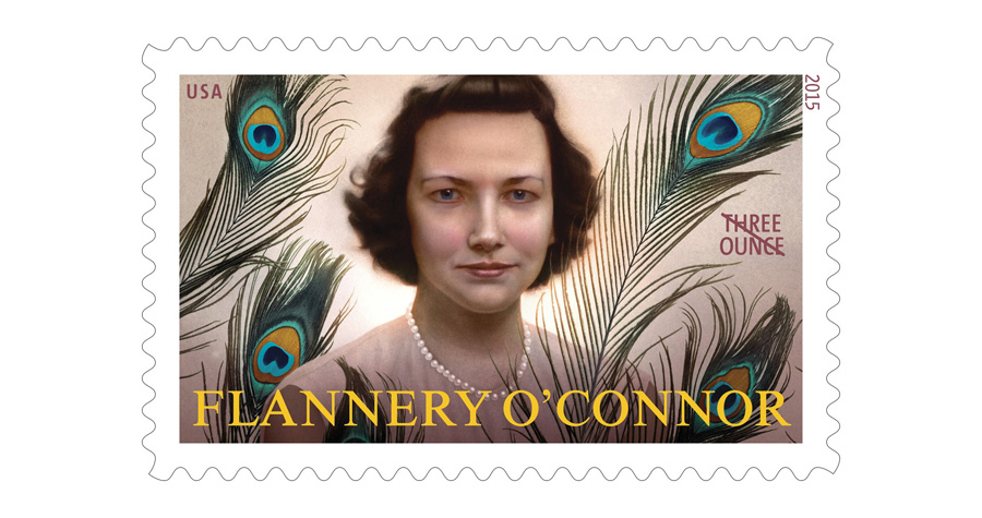 Flannery O'Connor Stamp Small