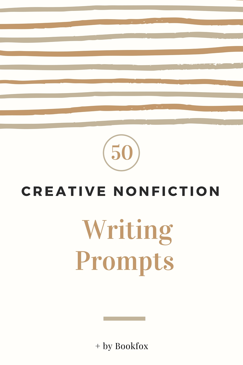 Creative non-fiction writing exercises