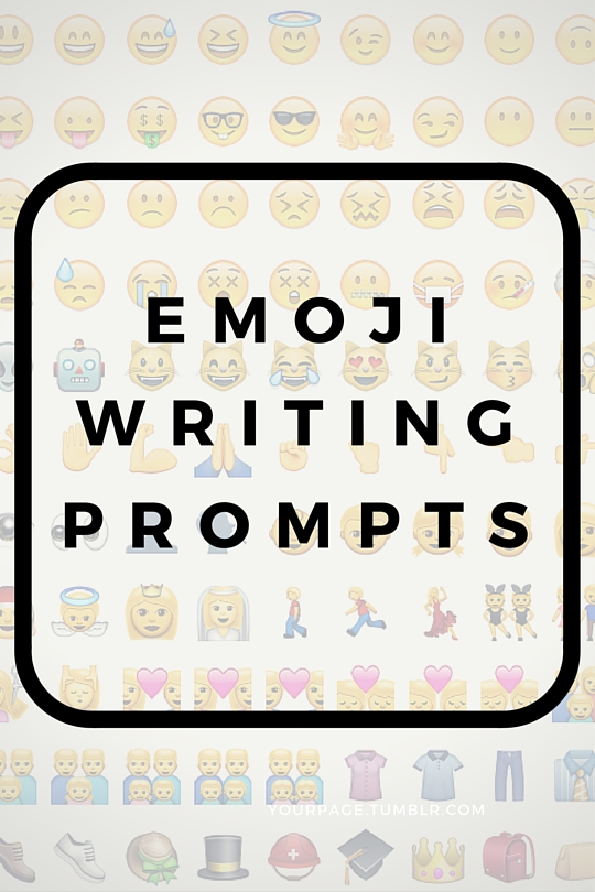 Emoji Writing Prompts