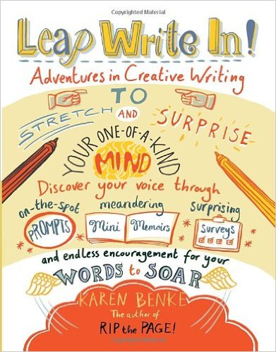 creative writing books for teens