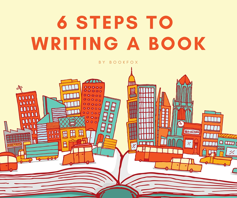 6 Steps to writing a book