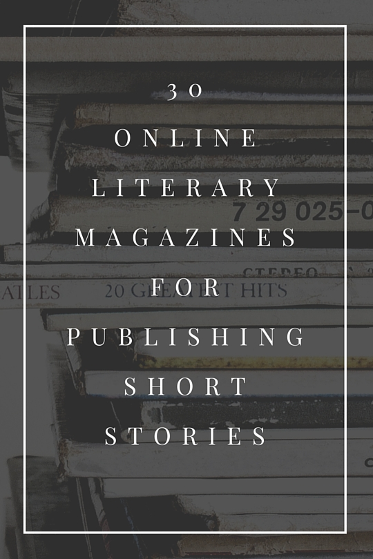 30 Small But Awesome Online Literary Magazines
