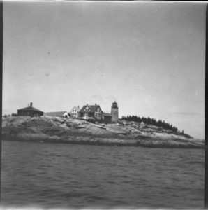 White Head lighthouse, August 1899