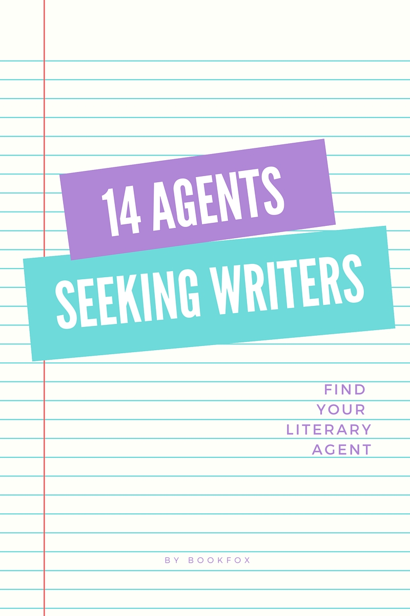 14 Literary Agents Currently Seeking Clients - Bookfox