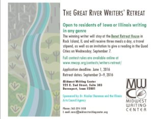 Great Rivers Writers Retreat