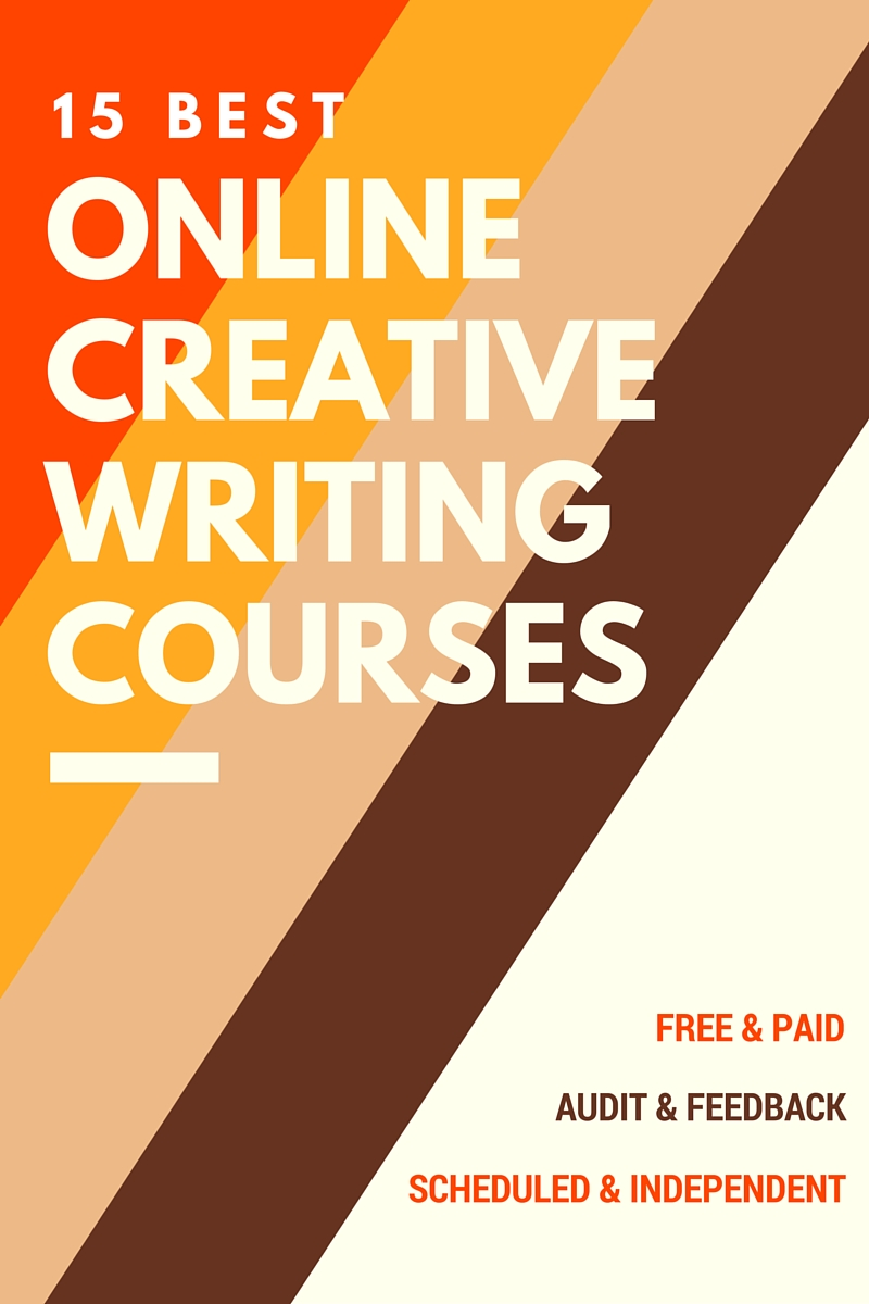 online undergraduate creative writing courses