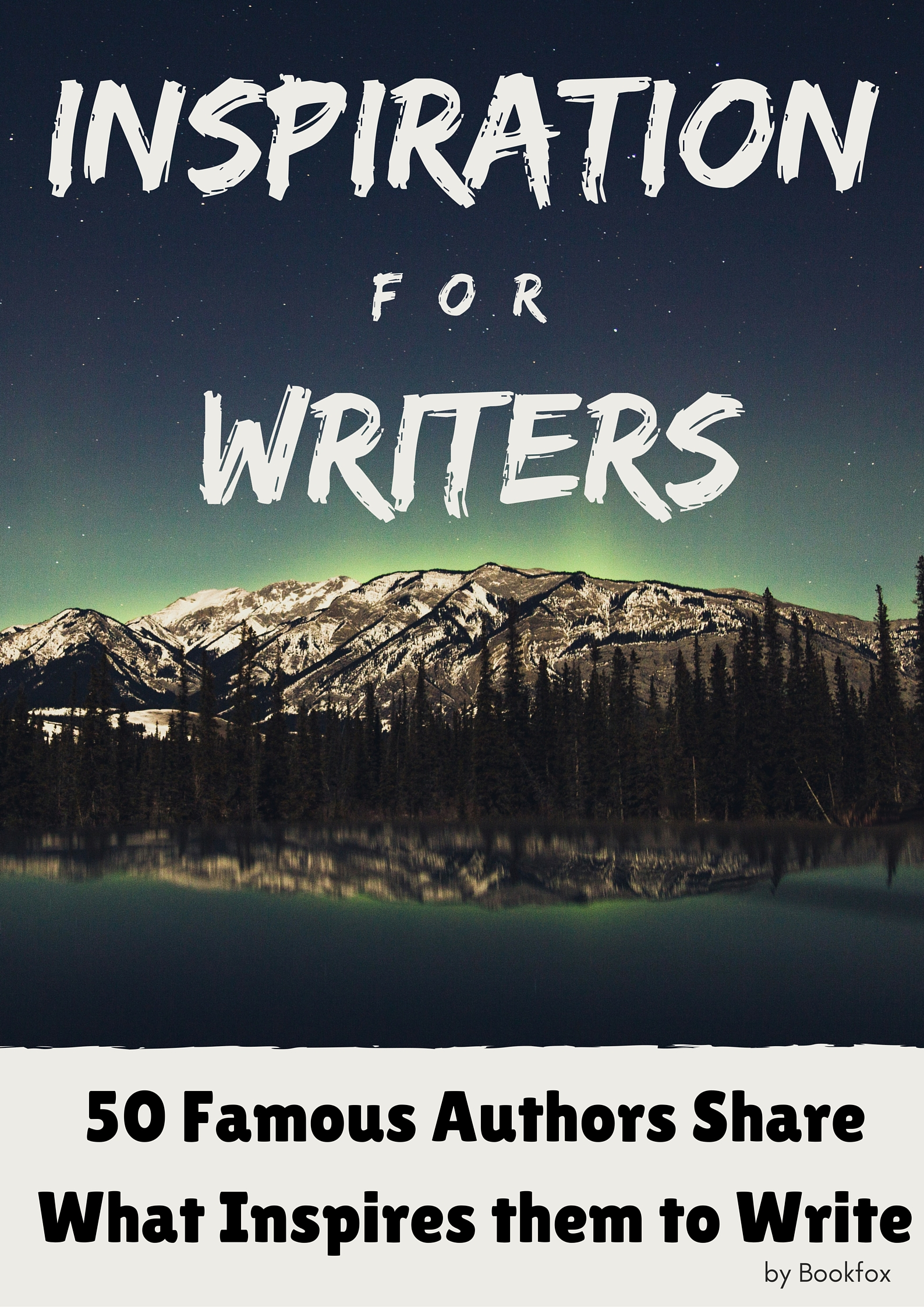 foto de How 50 Famous Authors Find Writing Inspiration - Bookfox
