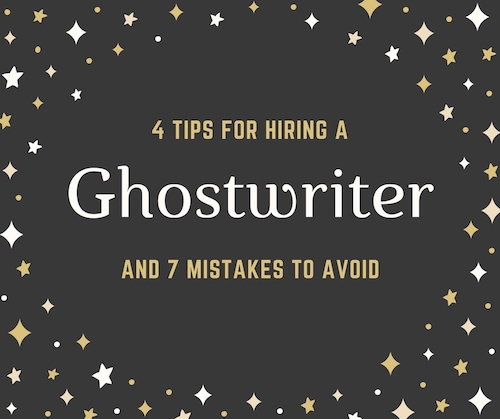 Ghost writer hire
