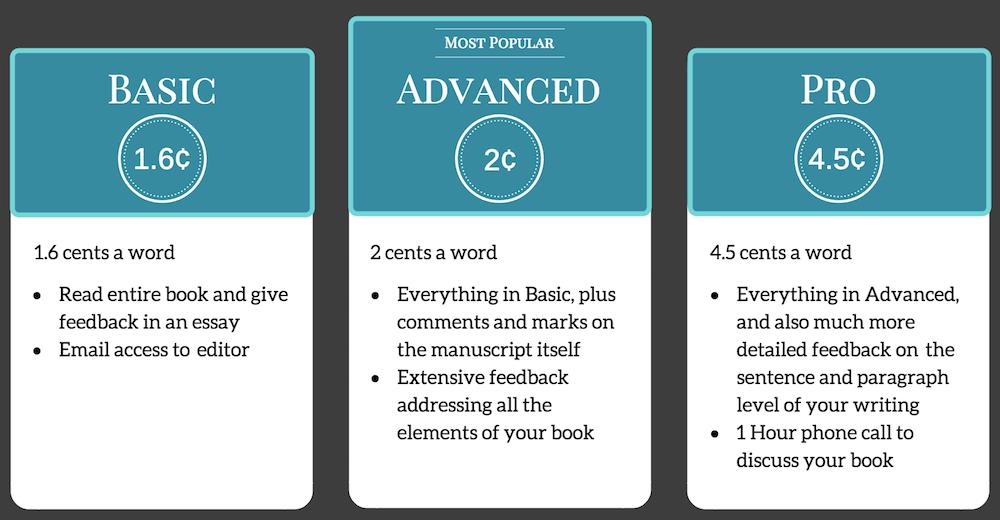 Novel Editor Pricing