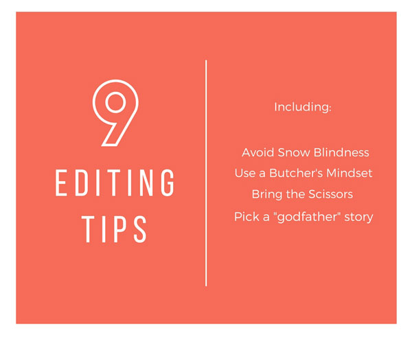 9 Tips to Become a Better Self-Editor